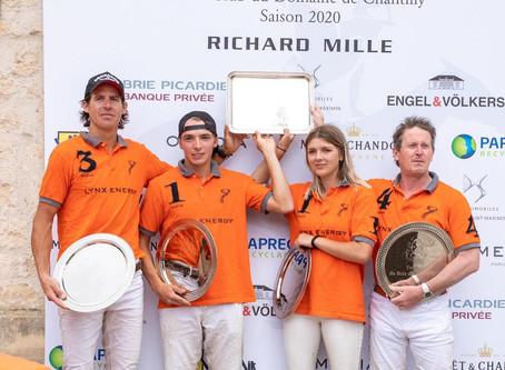 Francia: volvió el polo a Chantilly y Phoenix es el primer campéon