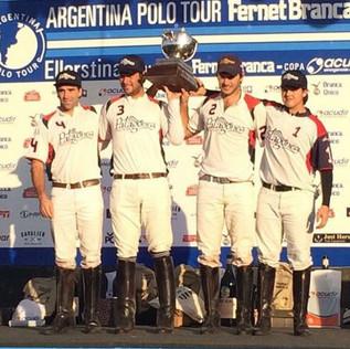 Patagones se quedó con la última etapa del Polo Tour en Ellerstina