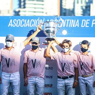 Lo grita a los Cuatro Vientos, el campeón de la Copa República