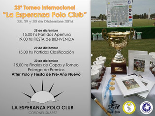 La Esperanza Polo Club cierra la temporada alta