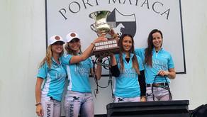 Las chicas de Hawaii Polo Life levantaron la Tabebuia Cup de Mayaca