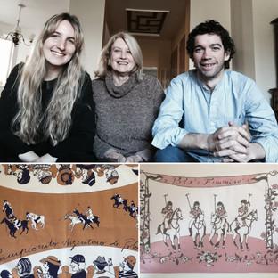 Arte de polo para la cocina argentina