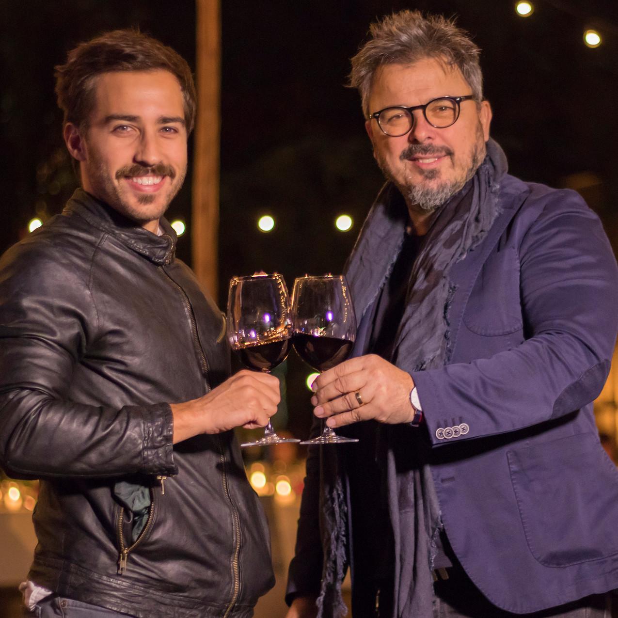 Nicolás_Francella_y_el_chef_Donato_de_Santis