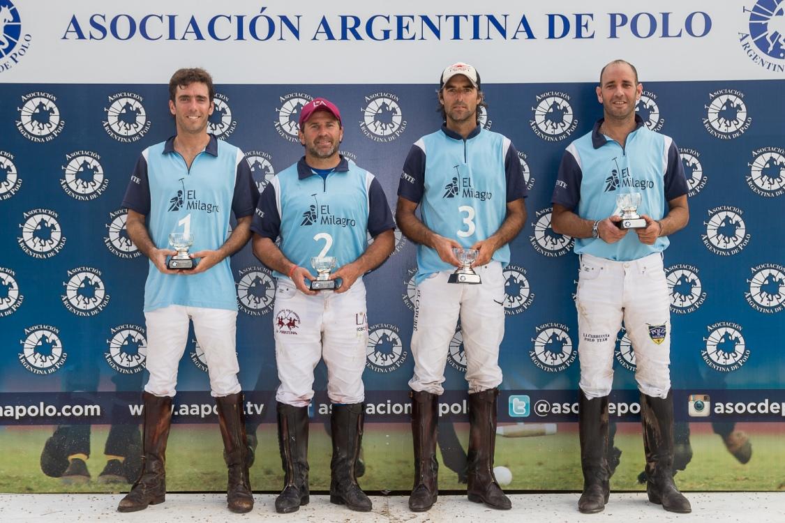 Torneo Metropolitano de Bajo Handicap 2016 - El Milagro