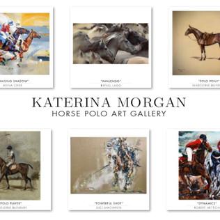 Katerina Morgan presenta su Horse Polo Art Gallery