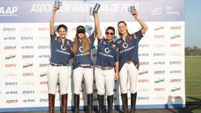 Las Praderas - La Morettina levantó el trofeo mayor de la Copa de la Mujer