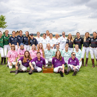 Clinique La Prairie y Jolies Filles, las mejores del Ladies Cup en Polo Park Zurich