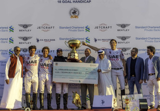 UAE Polo retuvo la Gold Cup de Dubai