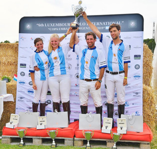 Augustinius Bader ganó el Luxemburg Polo International