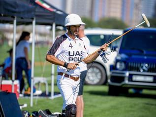 El Overo UAE Polo en la Silver Cup de Dubai, by Helen Cruden