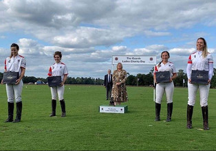 Monterosso completó el triplete con el Guards Ladies Charity Polo