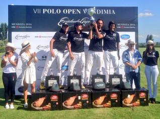 Escorihuela Gascón inauguró la Vendimia mendocina con un Polo Open