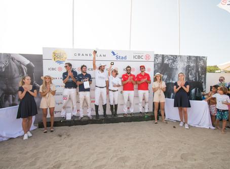 El polo en la arena tiene nuevos campeones: Mumy Bellande y Juan Cruz Losada