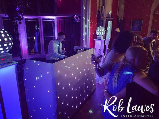 Brownsover Hall DJ Rob Lawes Entertainme
