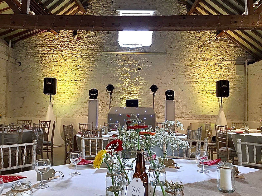 Rob Lawes Entertainments Cruck Barn at B