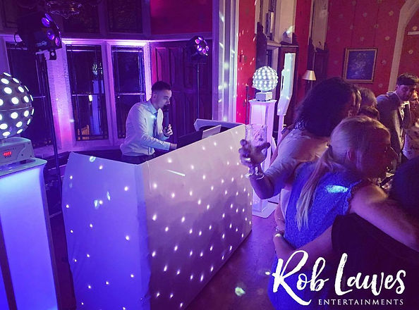 Rob Lawes Entertainments Elegant DJ Wedd