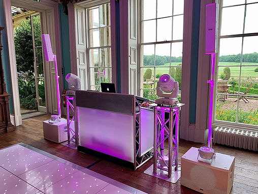 Rob Lawes Entertainments Prestwold Hall.