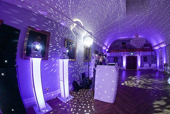 Rushton Hall wedding dj rob lawes entert
