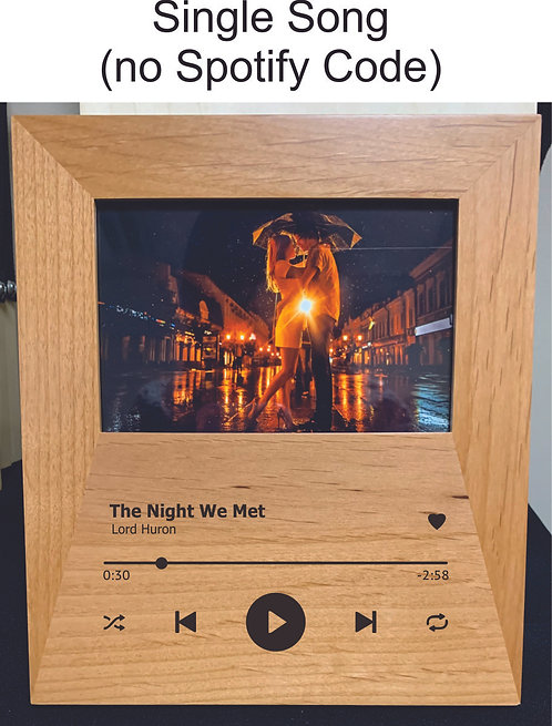"Single ""Song Player"" 4x6 Picture Frame"