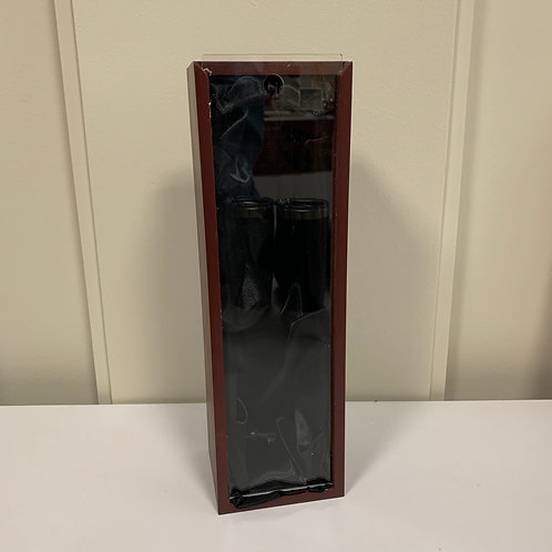 Wine Box with Acrylic Slider Lid