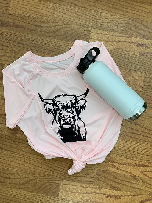 Women's Highland Cow T-Shirt
