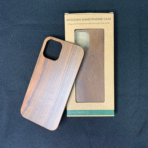 Oakywood Wooden Phone Case in Walnut - iPhone 12 or iPhone 12 Pro