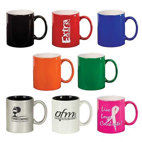 Ceramic Round Coffee Mug