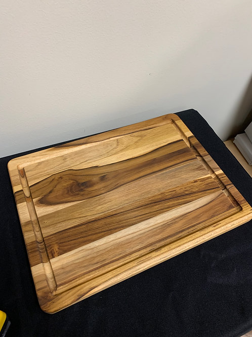 "15.9""x12"" Teakwood Cutting Board"