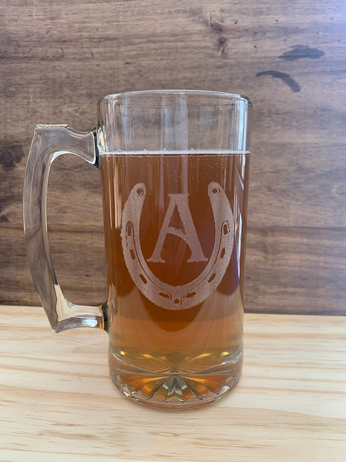 26.5 oz Glass Mug Sets