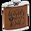 Thumbnail: 6 oz Leatherette Flask