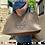 """Thumbnail: 19""""x12"""" Burlap Farmer's Market Shopping Bag"""