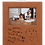 Thumbnail: 4x6 Leatherette Rawhide Picture Frame with Large Engraving Surface