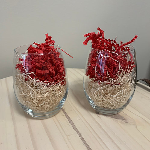 Stemless Wine Glasses (set of 2)
