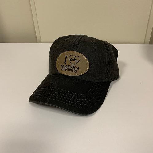 I Heart Saratoga Adjustable Women's Hat