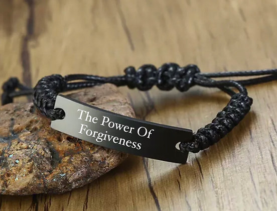 ADJUSTABLE ENGRAVING BRACELET-50% profit for NOLEF TURNS FOUNDATION