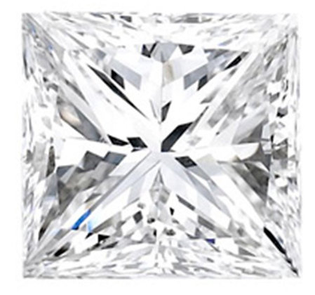 Loose-Princess Shape Diamond
