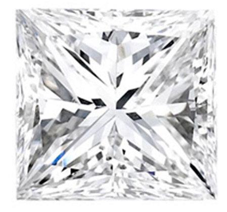 Loose-Princess Shape Diamond