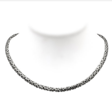 SILVER AND GOLD CHAIN-18""