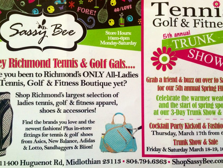 Sassy Bee Tennis Golf & Fitness Event