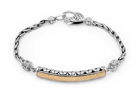 Silver/Gold Chain Bracelet