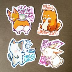Animal Friends Stickers