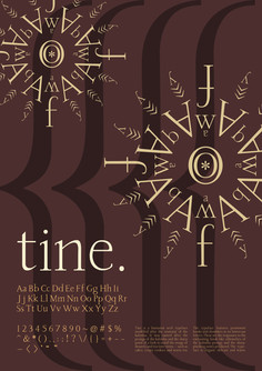 My Typeface Creation: Tine