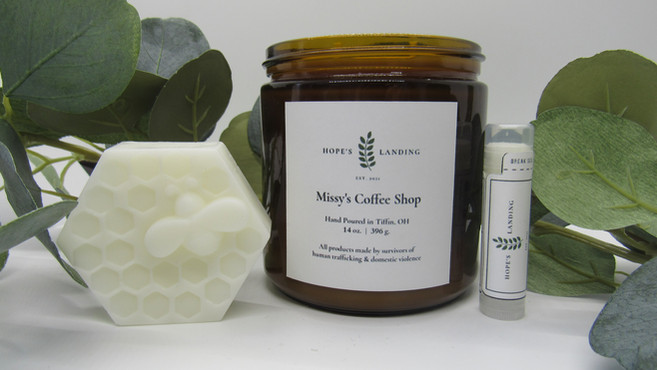 Lotion Bar, Missy's Coffee Shop, and Lip Balm