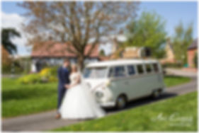 Hector 'Just Married' Champagne Drive.  Image Courtesy of Ani Evans Photograpy