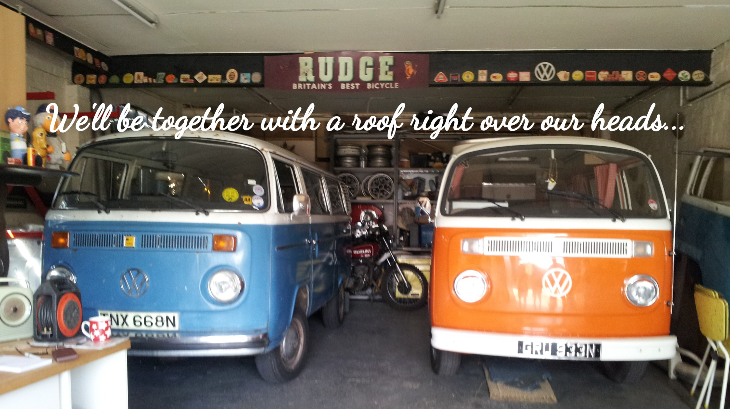 Past and present VWs