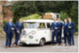 Hector 1967 VW Splitscreen at Brownsover Hall.  Image courtesy of Ani Evans Photography