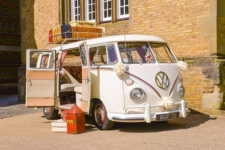 Hector1966 VW Splitscreen Deluxe at Rugby School