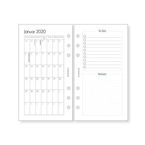 Kalendereinlagen Personal | MONATSPLANER