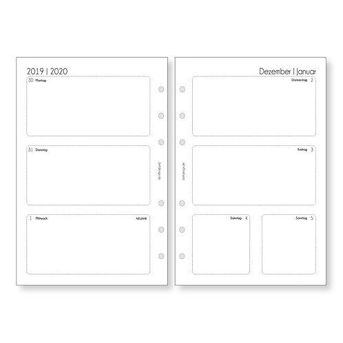 Kalendereinlagen A5 | WOCHENPLANER