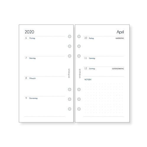 Kalendereinlagen Personal | WOCHENPLANER